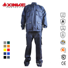 wholesale cotton nylon welding fire safety suits